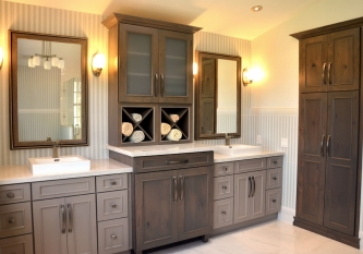 Showplace Wood Products Vanity Cabinets