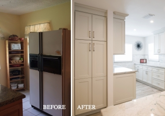 Kitchen Remodel Before and After 42