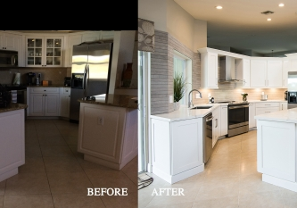 Kitchen Remodel Before and After 49