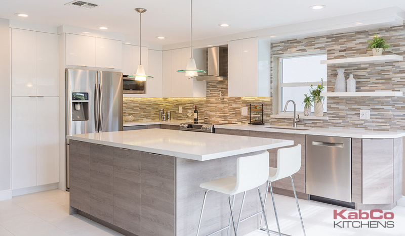 Miami Kitchen Design With A Combination Of Miralis Custom