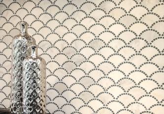 Marble Fan Tile