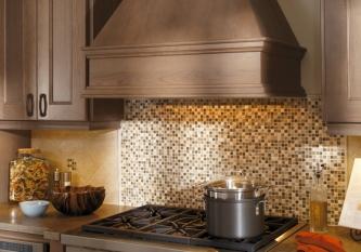 Stone Mosaic Tile Backsplash