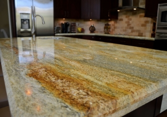 Imperial Gold Granite Countertop