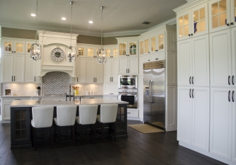 Expansive Showplace Kitchen