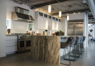 L Shaped Miralis Kitchen