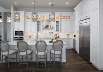 L Shaped Showplace Kitchen
