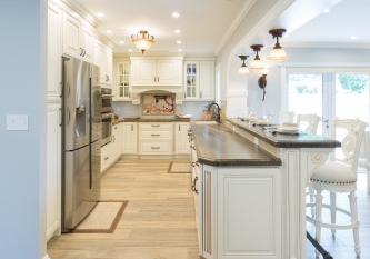 U Shaped Traditional Showplace Kitchen