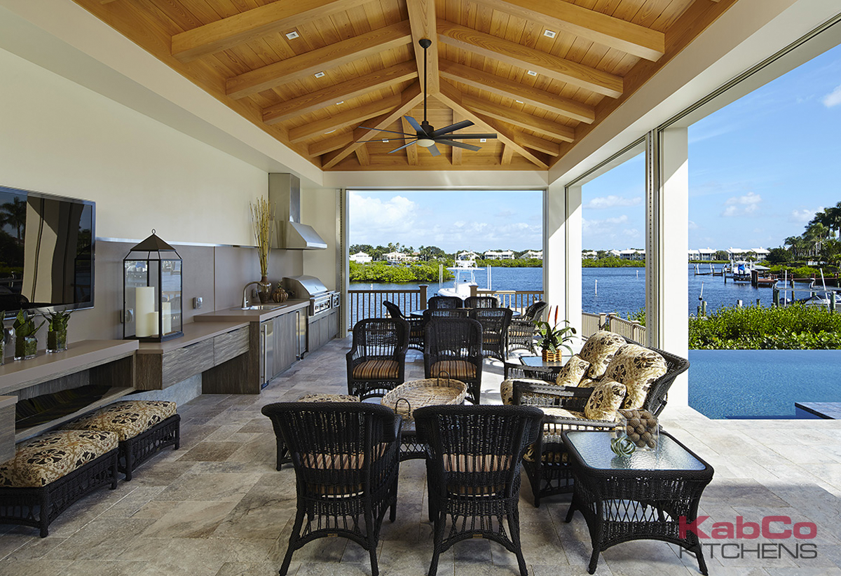 Outdoor Kitchen Cabinets in Miami and Fort Lauderdale