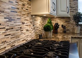 Marble Mosaic Tile Backsplash