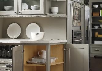 Diagonal Cabinets