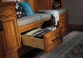 Hidden Bench Seat Drawer