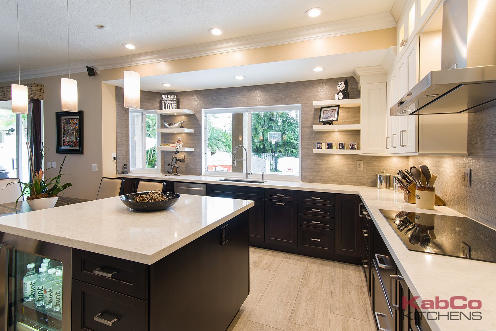 Transitional Maple Dream Kitchen Remodel In Weston Kabco