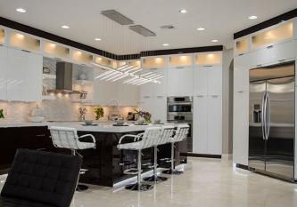 Modern Kitchen Design By Kabco Kitchens Pembroke Pines Fl