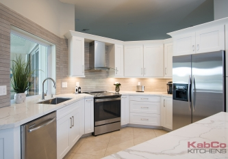KabCo Kitchens Novus Kitchen Remodel in Weston, FL