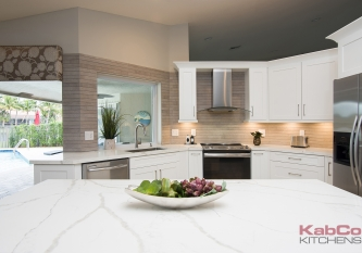 KabCo Kitchens Novus Kitchen Remodel in Weston, FL