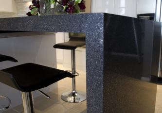Silestone Waterfall Countertop