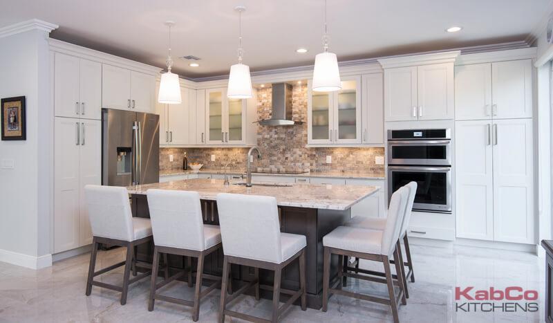 Reek KabCo Kitchens Kitchen Remodel in Fort Lauderdale Beach, FL