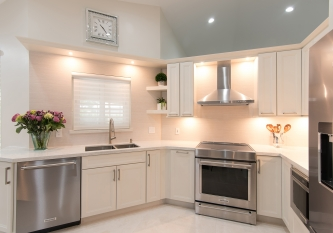KabCo Kitchens Weston Homecrest Cabinet Kitchen Remodel in Weston, Florida
