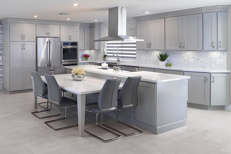Top-10-seating-inspirations-for-your-kitchen-design-grey-cabinets