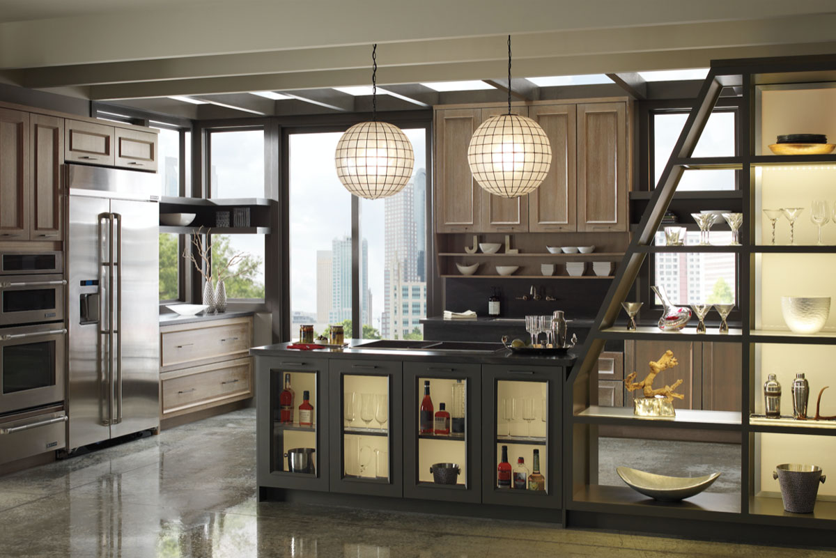 caramel-and-gray-kitchen-cabinet-ideas-pembroke-pines