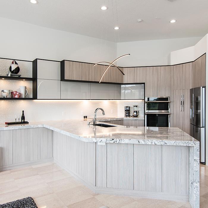 Brilliant | Fort Lauderdale Kitchen Remodel | Miralis ...
